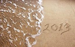 Το νέο έτος 2013 έρχεται Στοκ Φωτογραφία