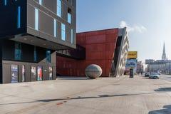 Το νέο στάδιο, νέο θέατρο, Plzen Στοκ Φωτογραφίες