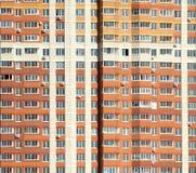Το νέο σύγχρονο κατοικημένο κτήριο είναι έτοιμο Στοκ εικόνες με δικαίωμα ελεύθερης χρήσης