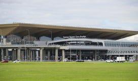 Το νέο τερματικό του αερολιμένα Pulkovo Αγία Πετρούπολη Στοκ φωτογραφία με δικαίωμα ελεύθερης χρήσης