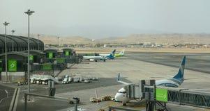 Το νέο τερματικό Muscat διεθνής αερολιμένας Ομάν Στοκ εικόνα με δικαίωμα ελεύθερης χρήσης