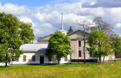 Το νέο Castle σε Γκρόντνομαστε belatedness Στοκ εικόνες με δικαίωμα ελεύθερης χρήσης