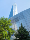 Το νέο World Trade Center στην πόλη της Νέας Υόρκης Στοκ Εικόνα