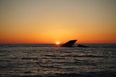 Το ναυάγιο στο ακρωτήριο μπορεί Στοκ Εικόνες