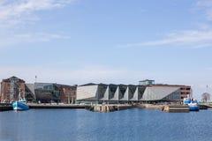 Το ναυπηγείο πολιτισμού Helsingor, Δανία στοκ φωτογραφίες με δικαίωμα ελεύθερης χρήσης