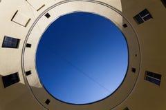 Το ναυπηγείο-φρεάτιο με μορφή ενός κύκλου Στοκ εικόνες με δικαίωμα ελεύθερης χρήσης