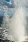Το να ρίξει κέρατο kauai Χαβάη Στοκ Εικόνες