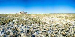 Το νεκροταφείο σκαφών της θάλασσας της ARAL Στοκ Φωτογραφία