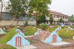 Το νεκροταφείο στο νεκροταφείο Jing Gung Στοκ εικόνες με δικαίωμα ελεύθερης χρήσης