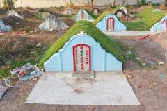 Το νεκροταφείο στο νεκροταφείο Jing Gung Στοκ Εικόνες