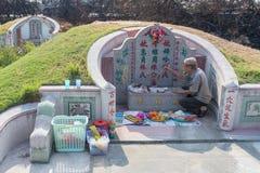 Το νεκροταφείο στο νεκροταφείο Jing Gung Στοκ φωτογραφία με δικαίωμα ελεύθερης χρήσης