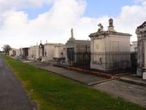 Το νεκροταφείο του Σαιντ Λούις #1, ένα από τα ανωτέρω επίγεια νεκροταφεία στη Νέα Ορλεάνη Λουιζιάνα ΗΠΑ Στοκ Εικόνες