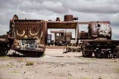 Το νεκροταφείο τραίνων στοκ φωτογραφίες