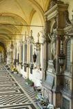 Το νεκροταφείο Mirogoj στο Ζάγκρεμπ, Κροατία Στοκ εικόνες με δικαίωμα ελεύθερης χρήσης
