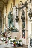 Το νεκροταφείο Mirogoj στο Ζάγκρεμπ, Κροατία Στοκ φωτογραφία με δικαίωμα ελεύθερης χρήσης