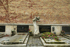 Το νεκροταφείο Mirogoj Στοκ Εικόνες