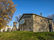 Το νεκροταφείο sault-Au-ανακαλεί Στοκ Εικόνες