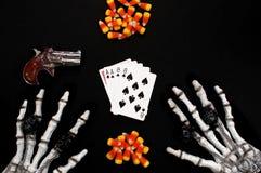 το νεκρό χέρι επανδρώνει Στοκ Εικόνες
