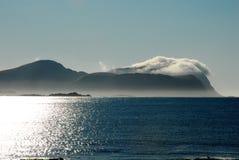 Το νησί βαμβακιού Στοκ Εικόνα