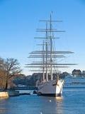 το νησί η Στοκχόλμη στοκ εικόνες