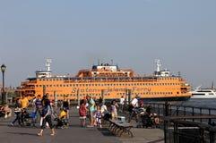 το νησί πορθμείων Στοκ Φωτογραφία