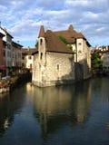 το νησί του Annecy δ Γαλλία Στοκ Εικόνες