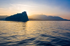 Το νησί των ισχίων Στοκ Εικόνες