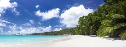 Το νησί των ονείρων. Anse Λάτσιο. Seyshelles Στοκ φωτογραφία με δικαίωμα ελεύθερης χρήσης