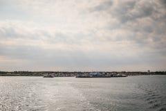 Το νησί Læsø στη Δανία Στοκ Εικόνα