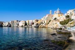 Το νησί Syros Στοκ εικόνες με δικαίωμα ελεύθερης χρήσης