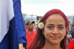 Το Νοέμβριο του 2017 7 της Τεγκουσιγκάλπα Ονδούρα διαδηλώσεων διαμαρτυρίας Στοκ εικόνα με δικαίωμα ελεύθερης χρήσης
