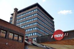 Το νορβηγικό γραφείο εργασίας και διοίκησης ευημερίας στοκ φωτογραφία