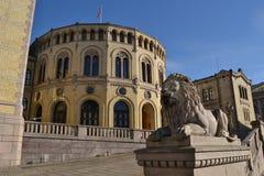 το νορβηγικό Κοινοβούλ&iota Στοκ εικόνα με δικαίωμα ελεύθερης χρήσης