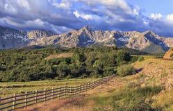 Το Ντάλλας διαιρεί, βουνά του San Juan, Κολοράντο Στοκ φωτογραφία με δικαίωμα ελεύθερης χρήσης