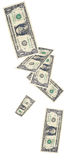 το ντους δολαρίων λογαριασμών Στοκ εικόνες με δικαίωμα ελεύθερης χρήσης