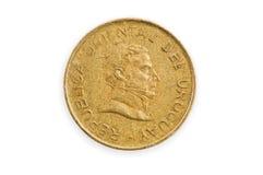 το νόμισμα απομόνωσε uruguayan Στοκ Εικόνα