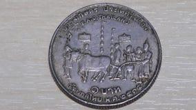 Το νόμισμα Ταϊλανδός είναι παλαιό απόθεμα βίντεο