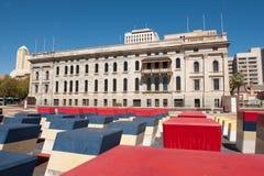 Το νότιο αυστραλιανά Κοινοβούλιο και φεστιβάλ Plaza Στοκ φωτογραφία με δικαίωμα ελεύθερης χρήσης