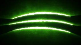 Το νύχι πετσοκόβει οριζόντιο πράσινο απεικόνιση αποθεμάτων