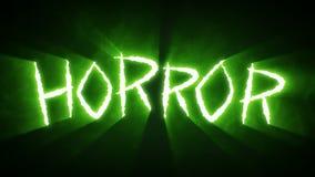 Το νύχι πετσοκόβει τη φρίκη πράσινη διανυσματική απεικόνιση