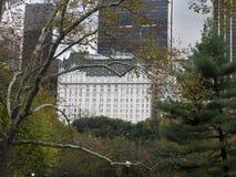 Το ξενοδοχείο πολυτελείας ορόσημων Plaza Στοκ Εικόνες