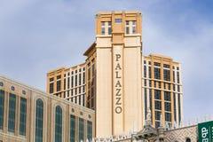 Το ξενοδοχείο και η χαρτοπαικτική λέσχη Palazzo Στοκ Εικόνες