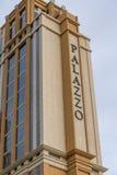 Το ξενοδοχείο και η χαρτοπαικτική λέσχη Palazzo Στοκ φωτογραφία με δικαίωμα ελεύθερης χρήσης
