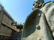 Το ξεχασμένο άγαλμα του Στάλιν Στοκ φωτογραφία με δικαίωμα ελεύθερης χρήσης
