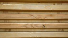 Το ξύλινο υπόβαθρο των τυφλών σανίδων περιστρέφεται Ο τοίχος του ξύλου έχει τη μορφή των τυφλών φιλμ μικρού μήκους