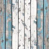 Το ξύλινη υπόβαθρο ή η σύσταση τοίχων, οι παλαιοί τοίχοι είναι χρωματισμένο μπλε Στοκ Εικόνα