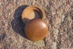 Το ξύλινο κιβώτιο Στοκ Εικόνες