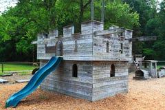 Το ξύλινο Castle Στοκ εικόνα με δικαίωμα ελεύθερης χρήσης