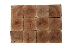 Το ξύλο αμυγδαλιών εμποδίζει το υπόβαθρο Στοκ εικόνα με δικαίωμα ελεύθερης χρήσης