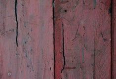 Το ξύλο χρωμάτισε μια εξασθενισμένη παλαιά αποφλοίωση χρωμάτων από μια ζάλη που στερεώθηκε Στοκ Φωτογραφίες